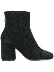 ботинки с эффектом блеска Maison Margiela