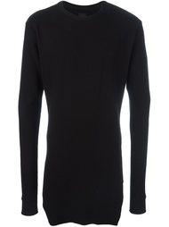 удлиненный свитер в рубчик Thom Krom