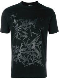 футболка с абстрактным принтом  Y-3