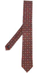 галстук с узором Dolce & Gabbana