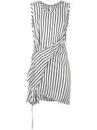 платье в полоску McQ Alexander McQueen