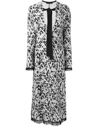 жаккардовое платье  Proenza Schouler