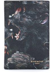 визитница с принтом бабуинов Givenchy