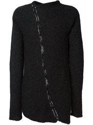свитер с декоративным швом Thom Krom