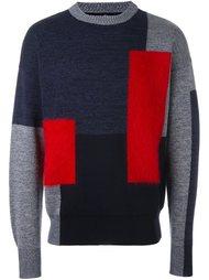 свитер колор-блок  Oamc