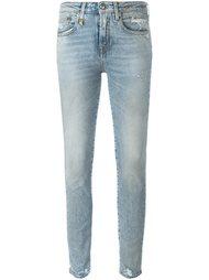 выбеленные джинсы  R13