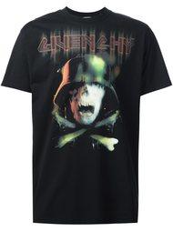футболка с принтом черепа Givenchy