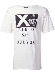 футболка с принтом Club 88 R13