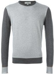 свитер-колор-блок  Canali