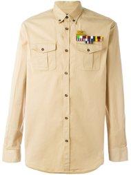 рубашка с нагрудными карманами Dsquared2