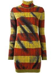 платье с высоким горлом trompe-l'œil Moschino