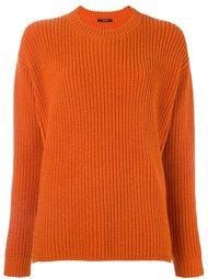 свитер с круглым вырезом   Odeeh