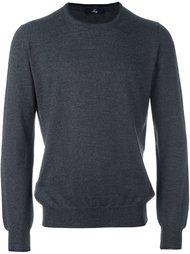 свитер с круглым вырезом   Fay