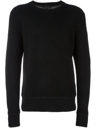 свитер с круглым вырезом  Ann Demeulemeester Grise