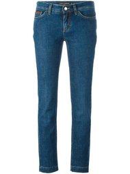 джинсы с вышивкой Dolce & Gabbana