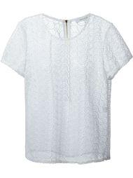 блузка вязаная крючком Diane Von Furstenberg