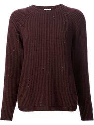 фактурный свитер Brunello Cucinelli