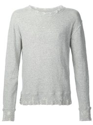 свитер с круглым вырезом  R13