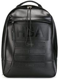 рюкзак с тиснением логотипа Hood By Air