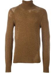 свитер с эффектом поношенности Maison Margiela