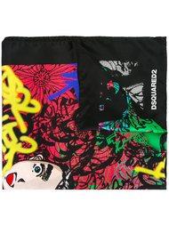 платок с узором Dsquared2
