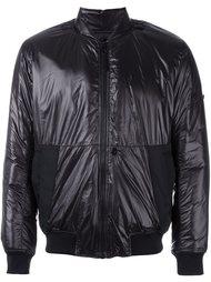 куртка бомбер на молнии с контрастными манжетами Stone Island Shadow Project