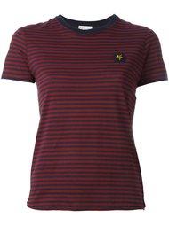 футболка в полоску Red Valentino