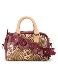 сумка на плечо со змеиным принтом Muveil