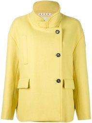 куртка с воротником-мандарин Marni