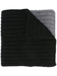 шарф с контрастными панелями Dsquared2