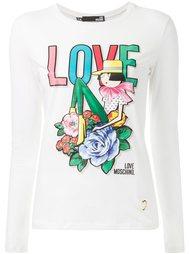 футболка с длинными рукавами  Love Moschino