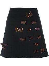 юбка с бантами J.W.Anderson
