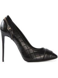 стёганые туфли с молнией на пятке Giuseppe Zanotti Design
