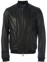 кожаная куртка бомбер Belstaff