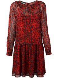 платье с принтом сердец  Boutique Moschino