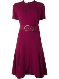 платье с поясом на талии Stella McCartney