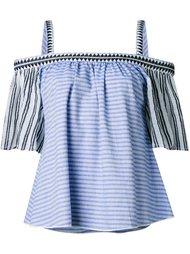 блузка с открытыми плечами  Lemlem