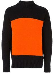 свитер колор-блок  Diesel