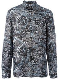 рубашка с принтом созвездий Versace