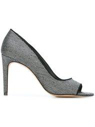 туфли-лодочки на шпильке с открытым носком Jean-Michel Cazabat