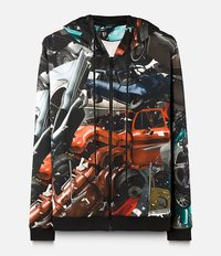 car crash hoodie Christopher Kane