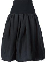 пышная юбка с завышенной талией Oscar de la Renta
