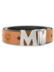 ремень с логотипом  MCM