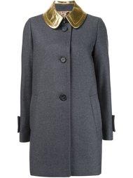однобортное пальто  Nº21