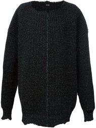 свитер свободного кроя  Raf Simons
