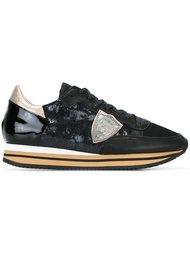 кроссовки с пайетками 'Tropez'  Philippe Model