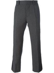 брюки в полоску Marc Jacobs