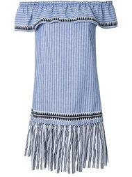 платье с оборками  Lemlem