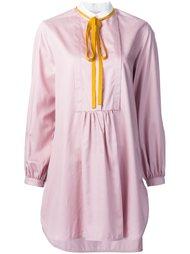 блузка с воротником Мандарин Roksanda