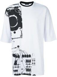 футболка 'Tykuna Ray' Diesel Black Gold